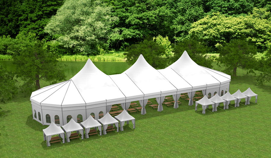 Pagoda Marquee