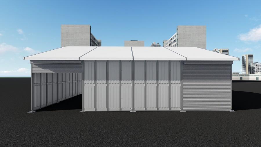 Temporary Storage Tent
