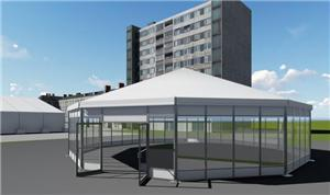 Polygon Tent For Events