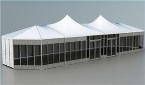 Transparent Multi Side Mixed Tent