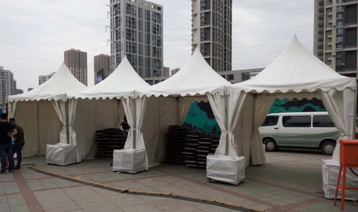 Cheap Used Pagoda Tent Factory, Sales advertising pagoda tent, resort pagoda tent Price