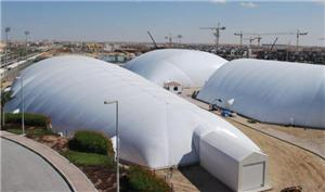 Logistics and Warehousing air dome