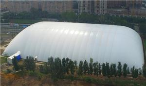 Clear White Inflatable Sport Air Dome