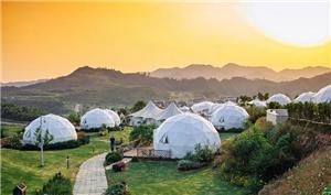 Outdoor Large Sphere Tent