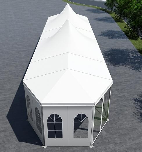 Multilateral shape and Pagoda mixed tent Manufacturers, Multilateral shape and Pagoda mixed tent Factory, Supply Multilateral shape and Pagoda mixed tent
