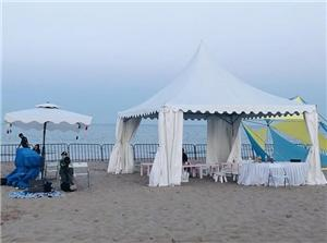 Pagoda tent for Temporary sales activities