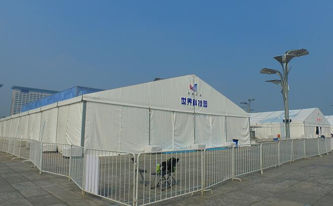 18m hanger tent