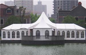 Pagoda tent and marquee tent polygon tent for Wedding tent