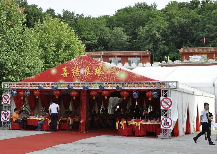 Red theme Marquee tent Wedding tent Manufacturers, Red theme Marquee tent Wedding tent Factory, Supply Red theme Marquee tent Wedding tent
