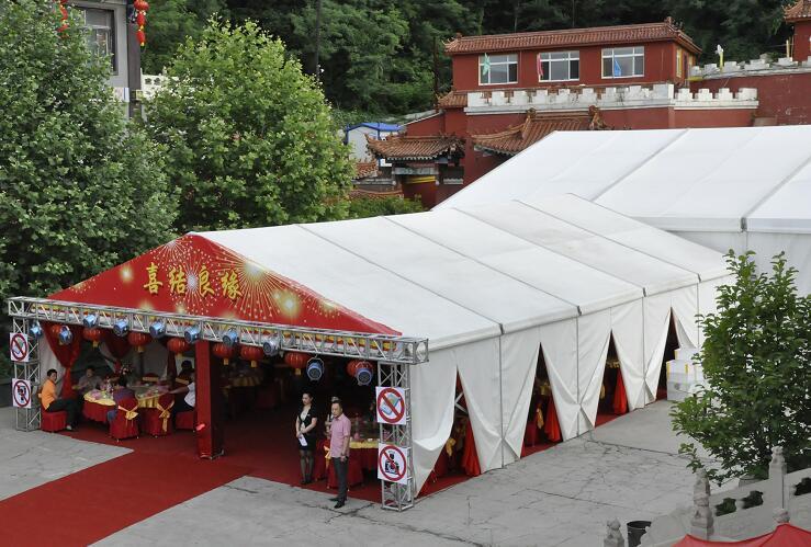 Wedding hanger tent