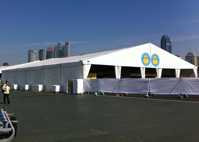 Exhibition marquee tent