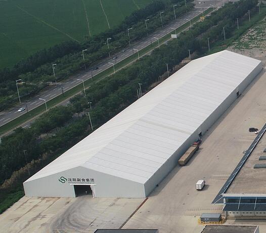 Warehousing tent