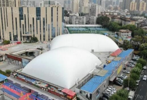 Build Air dome on roof top