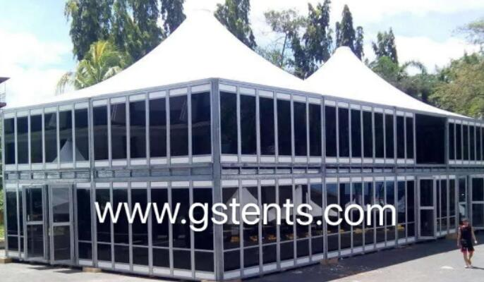 Peach Tent
