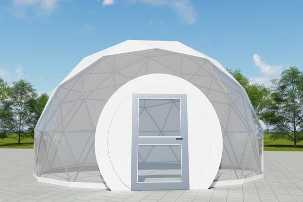 Transparent dome tent