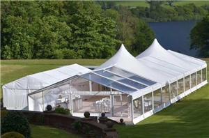 Tenda de jardim para eventos ao ar livre