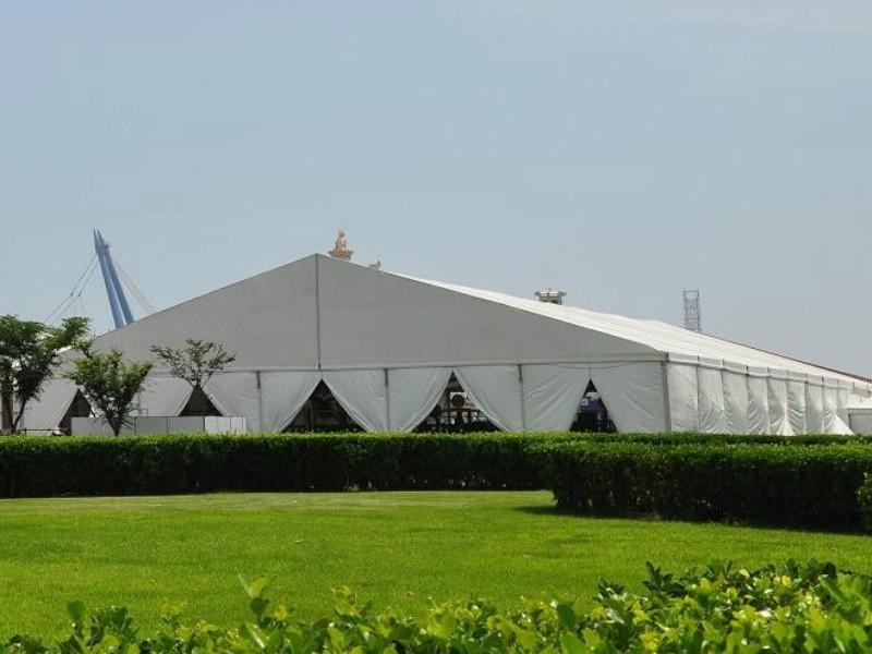 Tenda de marquise de exposição para eventos ao ar livre