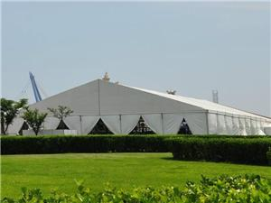 Outdoor event exhibition marquee tent