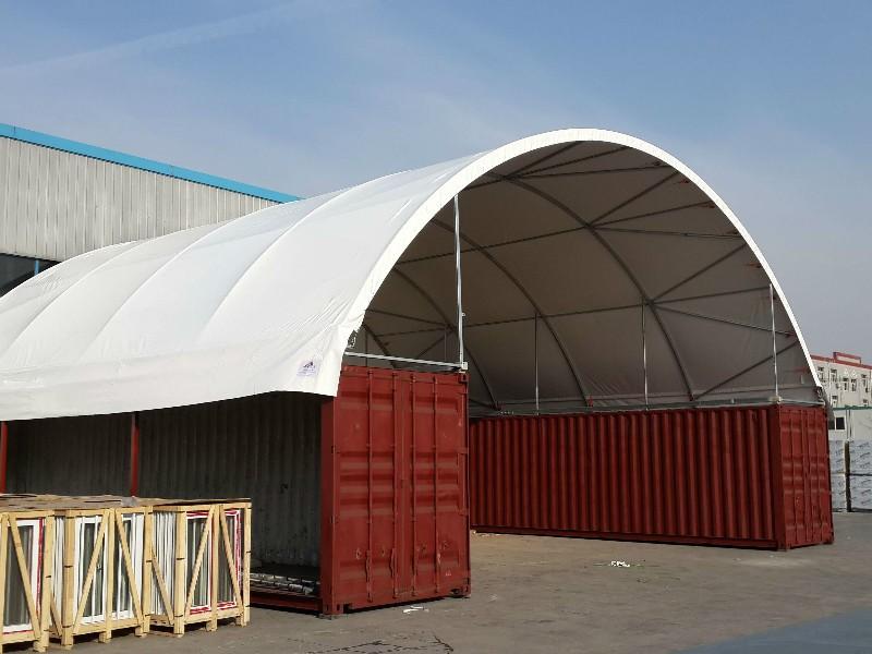 कंटेनर डोम तम्बू