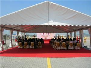 Barraca do famoso da festa de casamento dos eventos exteriores