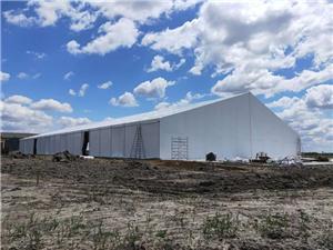 Color steel Sheet sidewall Warehouse tent