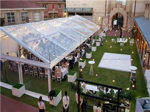 Transparent clear Roof top PVC fabric Marquee tent