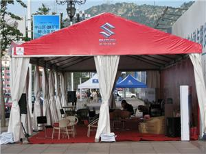 Color Roof PVC fabrics Marquee tent