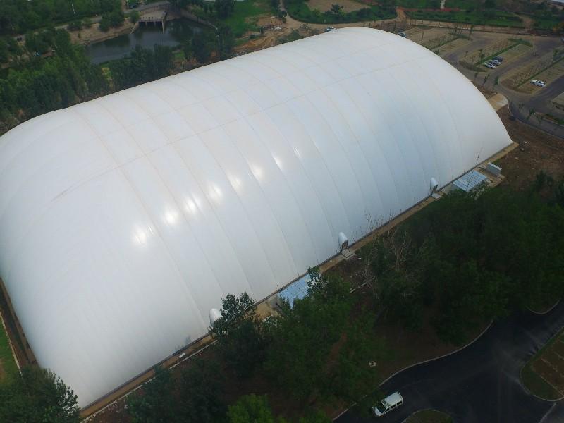साफ सफेद Inflatable हवा गुंबद