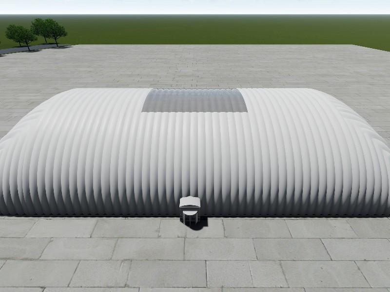 उत्पादन संयंत्र एयर डोम