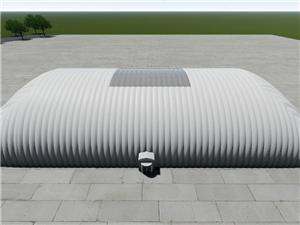 Production Plant Air Dome