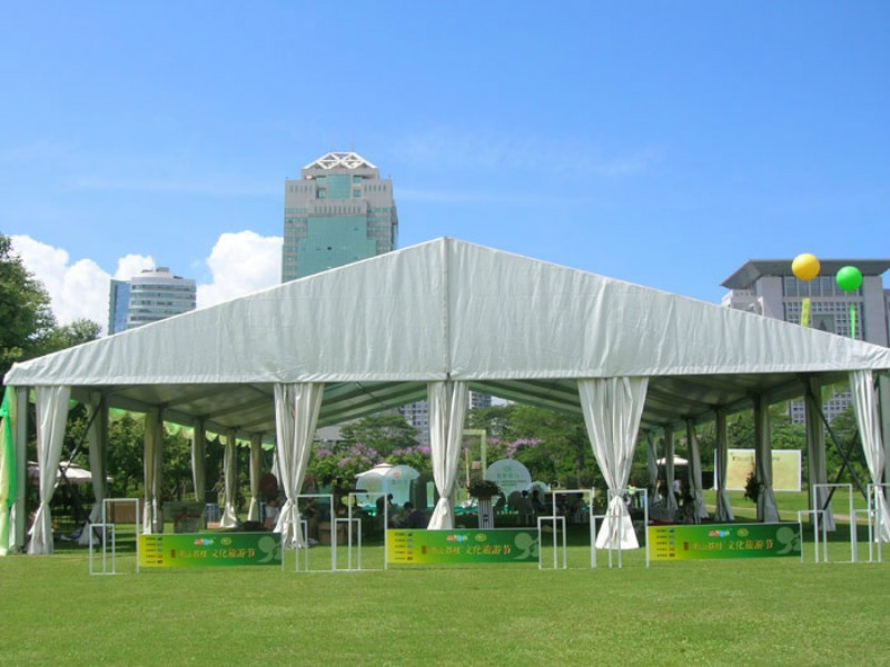 Outside Lawn wedding marquee tent