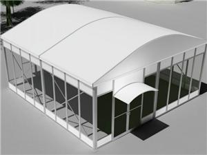 Barraca modular do cubo do telhado da abóbada