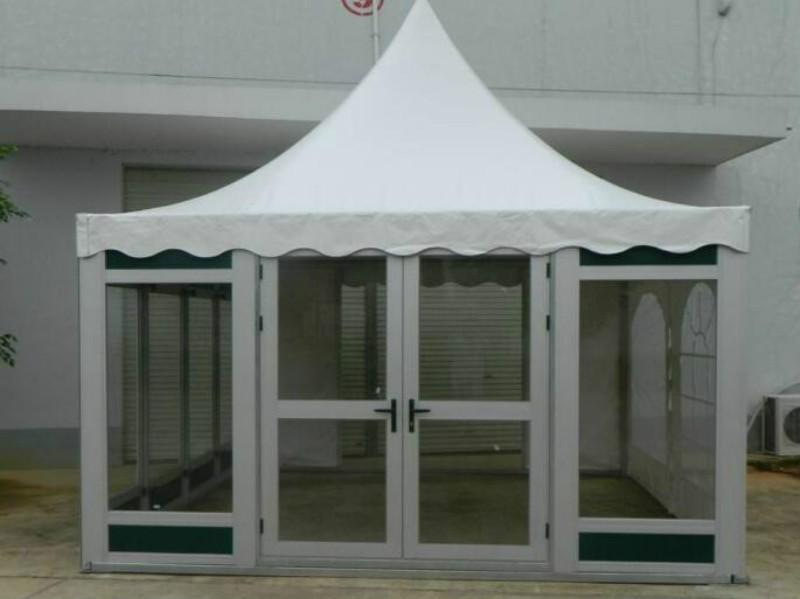 Modular Pyramid Roof Cube Tent