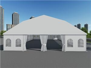 Polygon Top Tent for Club Music festival