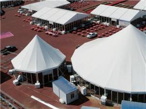 خيمة مثمنة