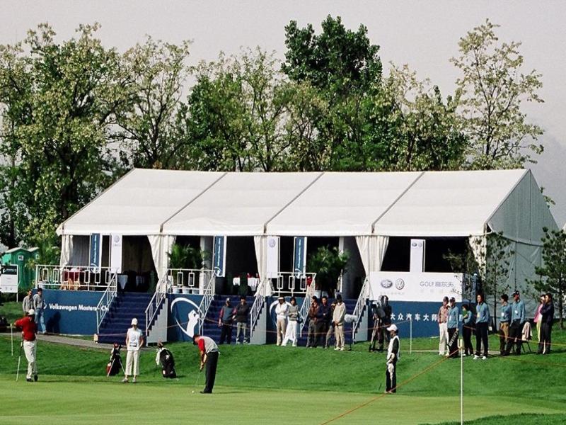 خيمة دبل ديكر للحدث الرياضي