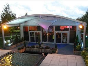 Large Durable Storage Curve Tent