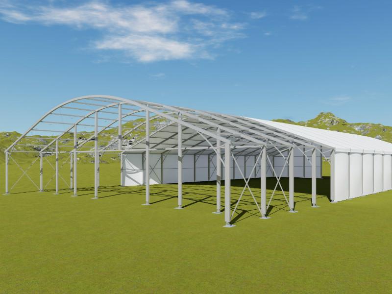 خيمة منحنى شفاف