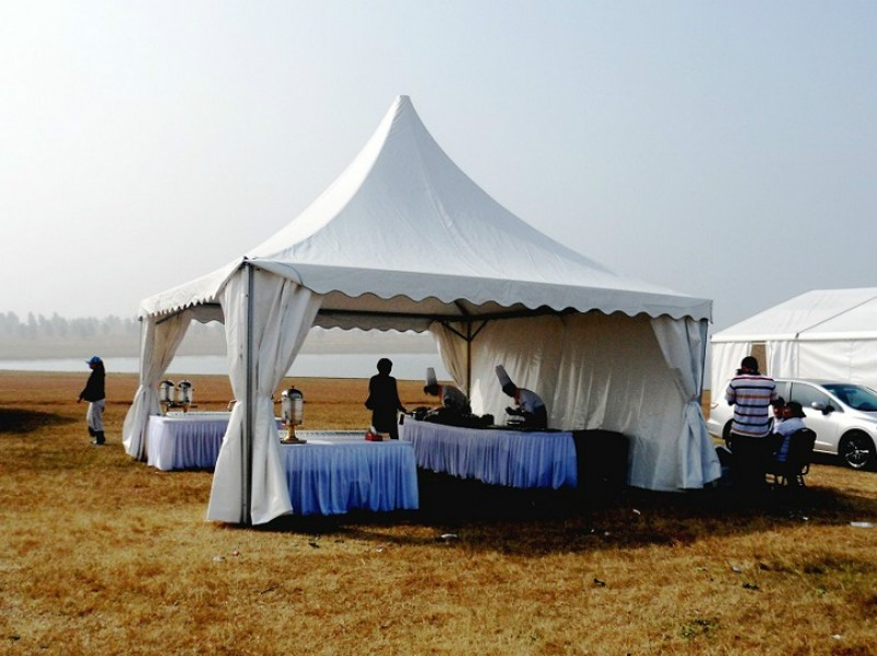 Warehouse Pagoda Tent