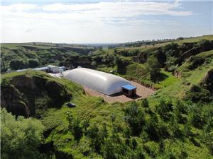 Ginásio Air Dome - para criar um novo local para esportes nacionais