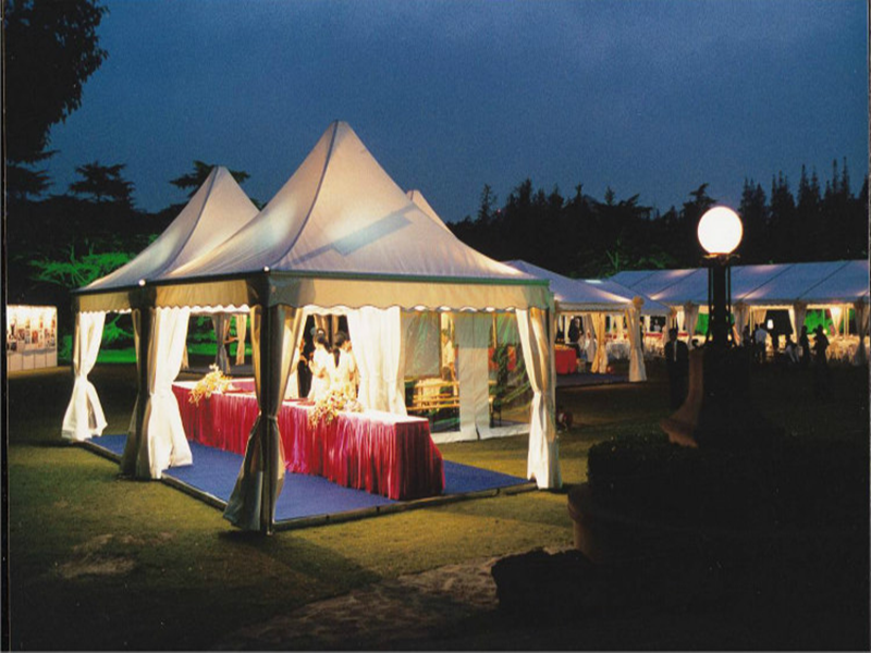 Outdoor camping party tent for parties
