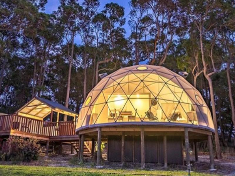 خيمة قبة التخييم