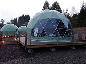خيمة قبة جيوديسية قطرها 6 أمتار