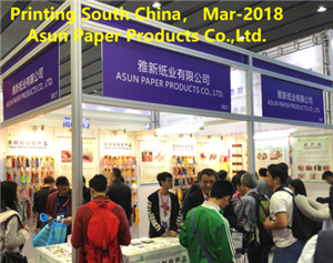 Environmetal Paper fashion rope have received popularity in South Printing Fair