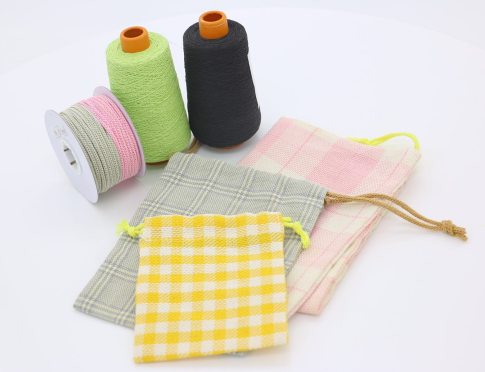 100% pure wood pulp Paper yarn, countless possibilities to use Paper Yarns