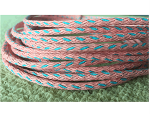 Novelty knitted paper cord