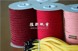 Single Color Knitted Paper Cord