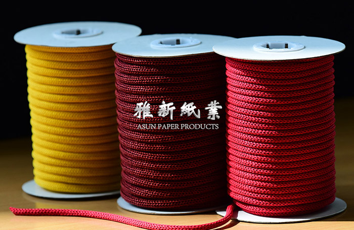 Single Color Knitted Paper Cord Manufacturers, Single Color Knitted Paper Cord Factory, Supply Single Color Knitted Paper Cord