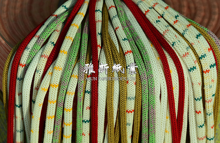 Mix Color Knitted Paper Cord Manufacturers, Mix Color Knitted Paper Cord Factory, Supply Mix Color Knitted Paper Cord