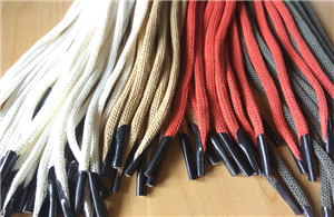 Knitted Paper Cord With Plastic Barbs